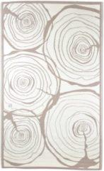 Bruine Esschert Design Buitenkleed jaarringen 240x150 cm