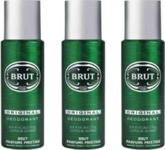 3x Brut deospray original 200 ml