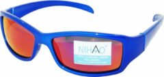 Blauwe Nihao Victoria Sportbril 1.1mm Polarized. TR-90 Ultra-Light frame Anti-Reflect coating.