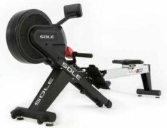 Grijze Sole Fitness SR500 Professionele Roeitrainer - Inklapbaar - Uitstekende Garantie