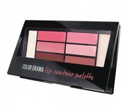 Maybelline Liner Studio Color Contour Lip Palette - 1 Blushed - Lipstick Palet (Ex)