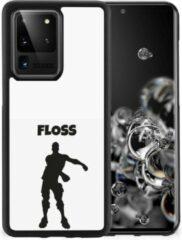 Telefoontas Samsung Galaxy S20 Ultra Smartphone Hoesje met Zwarte rand Floss Fortnite