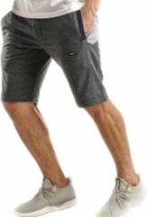 Embrator mannen Jogging Short grijs melange maat L