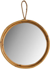 Xenos Spiegel in rotan frame - ⌀30 cm