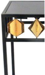 Beistelltisch Pflanzständer Möbel-Direkt-Online schwarz