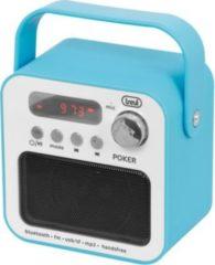 Trevi DR 750 BT tragbares Radio - blau