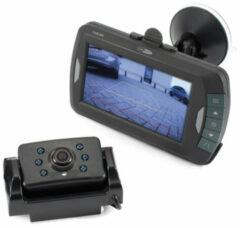 Caliber Audio Technology Draadloos achteruitrijcamera systeem 2 camera-ingangen, Automatische witbalans, Diafragma F 2.0, Vrij verstelbare kogelcamera, Extra