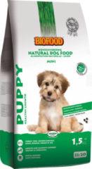 Biofood Puppy Small Breed - Hondenvoer - Kalkoen 1.5 kg