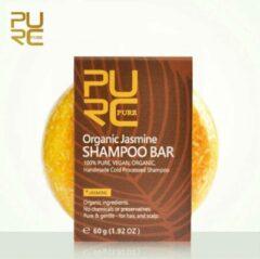 PURC Organic Jasmijn Shampoo Bar 60g - vegan en geen chemicalen
