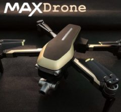 Gouden MAXDrone - X1PRO RC Drone -1000m hoog vliegen- Smart Drone met camera – 4K Full HD Dual Camera – Foto – Video – 50x zoom –GPS positioning system- Inklapbare Drone