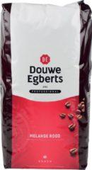 Rode Koffie Douwe Egberts bonen fresh melange rood 3000gr