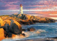 Eurogra Puzzel 1000 stukjes - Peggy's Cove Lighthouse