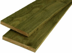 Woodvision Potdekselplank Douglas 22 x 200 | Geïmpregneerd | 300 cm