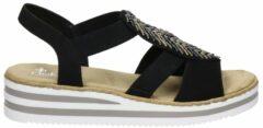 Zwarte Rieker sandalen