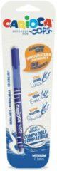 Massamarkt Carioca Oops uitwisbare pen 0,7mm blauw