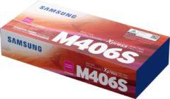 Paarse Samsung CLT-M406S Origineel Magenta 1 stuk(s)