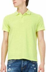 Gele Polo Shirt Korte Mouw Gas 310174
