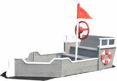 Rode Rijoka Zandbak Schip Boot | Speeltoestel 1530 x 778 x 880mm
