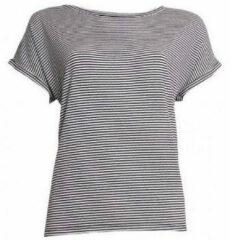 Zwarte T-shirt Korte Mouw 20 To 20TO t-shirt 20to56 stripe
