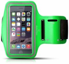 #DoYourFitness - Sportarmband - »RunnerGirl« - Sportarmband geschikt voor mobiele telefoon - MEDIUM (138x68x7 - 146x74x10mm) 50CM armomvang - groen