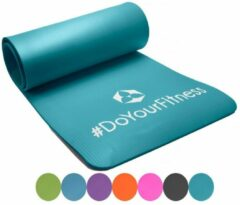 #DoYourFitness DoYourFitness Fitness Mat - Yoga - 183 x 61 x 1,0cm - Turquoise