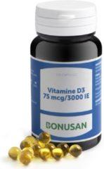 Bonusan Vitamine D3 75mcg 3000IE Capsules 120st