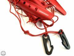 Rode Haringboer 23cm aluminium sneeuwharingen
