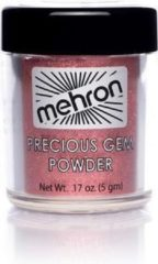 Donkerrode Mehron Precious Gem Powder - Garnet