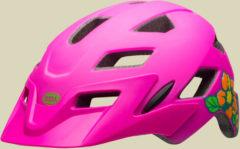 Bell Sidetrack Youth Kinder/Jugend Fahrradhelm Kopfumfang Unisize 50-57 cm matte pink/lime