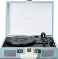 Lenco Classic Phono TT-110 - Platenspeler met Bleutooth en Speakers - blauw