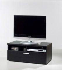 Tvilum Nadja TV-meubel 1 lade en 2 ruimtes zwart.