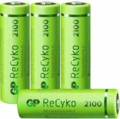 GP batterijen GP Batteries ReCyko+ HR06 Oplaadbare AA batterij (penlite) NiMH 2100 mAh 1.2 V 4 stuk(s)
