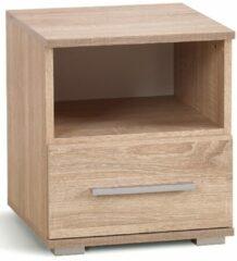 FD Furniture Nachtkastje Lima 44 cm hoog in sonoma eiken