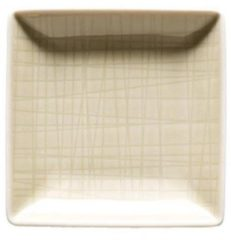Creme witte ROSENTHAL - Mesh Cream - Schaal vierkant 10 cm
