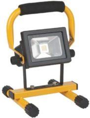 Brennenstuhl mobiele accu werklamp LED ML CA 110 IP54 10W 650lm uitwisselbare accu met voeding