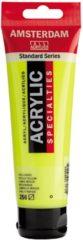Gele Royal Talens Standard tube 120 ml Reflexgeel halftransparante acrylverf reflex geel