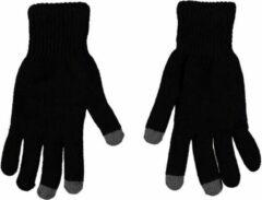 Merkloos / Sans marque Touchscreen thermo handschoenen zwart voor heren S/M
