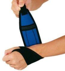 Grijze Polsbandage Zamst Wrap Around - Small (polsomvang 13-17 cm) - Zwart