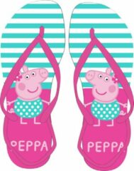 Roze Peppa Pig Teenslippers van Peppa Big maat 28