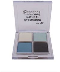 Benecos True Blue Natural Eyeshadow Oogschaduw 4.8 g