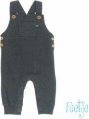 Antraciet-grijze Feetje! Jongens Tuinbroek - Maat 44 - Antraciet - Katoen/polyester/elasthan