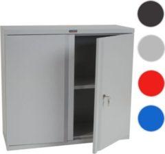 Heute-wohnen Aktenschrank Valberg T330, Metallschrank Büroschrank Stahlschrank, 2 Türen 84x92x37cm