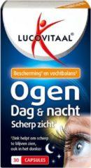 Lucovitaal - Ogen Dag & Nacht Scherp Zicht - 30 capsules - Voedingssupplementen