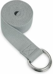 Grijze Gaiam Yoga Strap Storm Grey