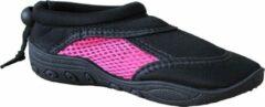 Campri waterschoenen aquaschoenen unisex maat zwart roze