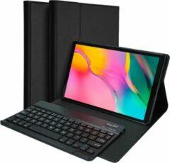Accezz Bluetooth Keyboard Bookcase Samsung Galaxy Tab A 10.1 (2019) tablethoes - Zwart