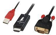 Lindy Videokabel - HDMI / VGA / USB - HD-15 (VGA) 41455