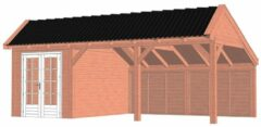 Van Kooten Tuin en Buitenleven Kapschuur De Stee 740x425 cm - Combinatie 1