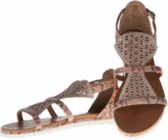 La Femme Plus - sandalen - maat 39 - dames - python roze