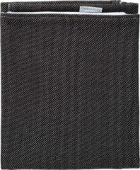 Cottonbaby Ledikantdeken Stip Katoen 120 X 150 Cm Zwart/wit